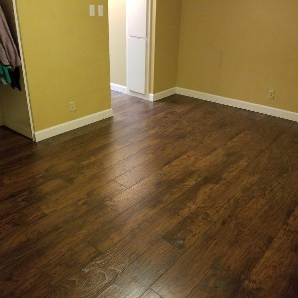 Hardwood Floor and Baseboard Installation